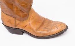 Cowboystiefelweinlese Stockbild