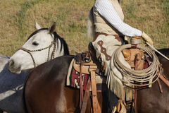 cowboyutrustning Royaltyfria Bilder
