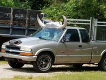 Cowboyvrachtwagen royalty-vrije stock fotografie