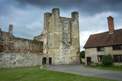 Cowdray House Grade One Listed ruins near Midhurst Sussex Stock Photography