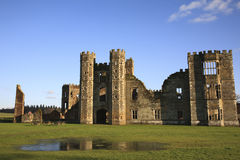 Cowdray Ruins in Midhurst, West Sussex, England Royalty Free Stock Images
