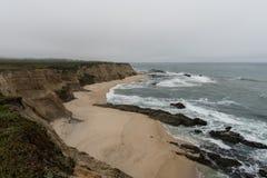 Cowell-Ranch-Strand, Nord-Kalifornien lizenzfreie stockfotos