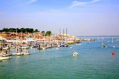Cowes, Insel von Wight. Lizenzfreies Stockfoto