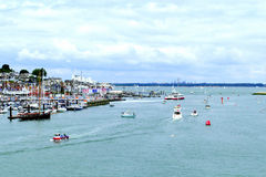 Cowes, Isle of Wight. Royalty Free Stock Photo