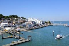 Cowes, wyspa Wight, UK Zdjęcia Royalty Free