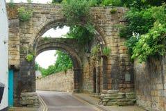Cowgarth viejo o puerta en Hexham, Northumberland imagen de archivo libre de regalías