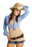cowgirl αρκετά Στοκ Εικόνες