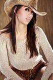cowgirl προκλητικός Στοκ Φωτογραφίες