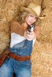 cowgirl προκλητικός Στοκ Φωτογραφία