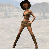 Cowgirl #03 Royalty Free Stock Images