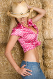cowgirl Obraz Royalty Free
