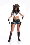 Cowgirl Foto de Stock Royalty Free
