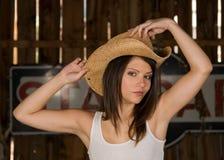 cowgirl Obraz Royalty Free