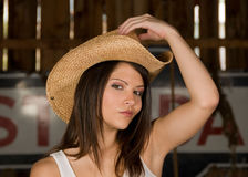 Cowgirl Fotos de Stock Royalty Free