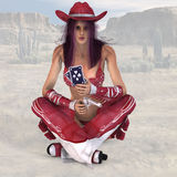 Cowgirl #14 Royalty Free Stock Photos