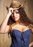 cowgirl Obraz Stock