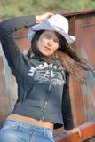 cowgirl Royaltyfri Foto