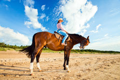 Cowgirl Royalty Free Stock Images