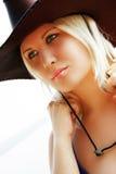 Cowgirl lizenzfreie stockfotografie