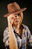 Cowgirl Lizenzfreie Stockfotos