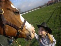 Cowgirl  Arkivfoto