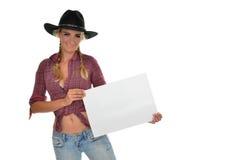 Cowgirl foto de archivo