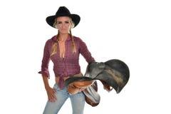 Cowgirl fotografía de archivo