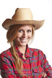 Cowgirl Imagem de Stock Royalty Free