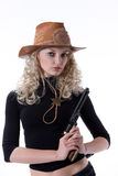 cowgirl Arkivfoto