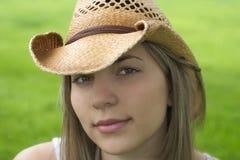cowgirl Royaltyfri Bild