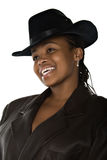 Cowgirl africano Fotografie Stock Libere da Diritti
