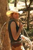 cowgirl arkana Obrazy Stock