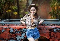Cowgirl stockbilder