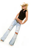 Cowgirl attire Royalty Free Stock Photo