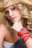 Cowgirl bonito fotos de stock royalty free