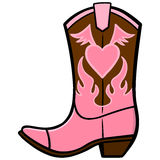 Cowgirl Boot Stock Photos