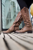 Cowgirl boots Royalty Free Stock Photos