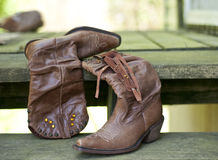 Cowgirl Boots Royalty Free Stock Image