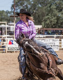 Cowgirl in Control Royalty Free Stock Photo