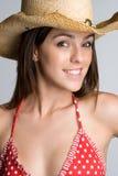 Cowgirl del verano Fotografía de archivo libre de regalías
