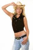 Cowgirl fashion Stock Photo
