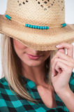 Cowgirl Hat Royalty Free Stock Images