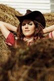 Cowgirl hermoso Fotos de archivo