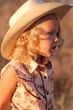 Cowgirl joven. fotografía de archivo libre de regalías