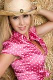 Cowgirl latino Immagini Stock Libere da Diritti