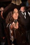Cowgirl mexicano Foto de archivo
