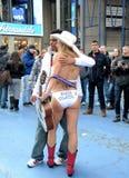 cowgirl nagi Zdjęcie Royalty Free