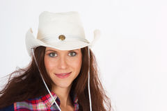 CowGirl Portrait 4 Royalty Free Stock Images