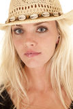 Cowgirl portrait looking Stock Photography