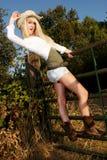 Cowgirl portraits Stock Photo